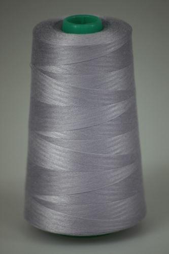 Niť KORALLI polyesterová 120, 5000Y, odtieň 4120, fialová-šedá