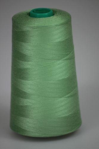 Niť KORALLI polyesterová 120, 5000Y, odtieň 6340, zelená