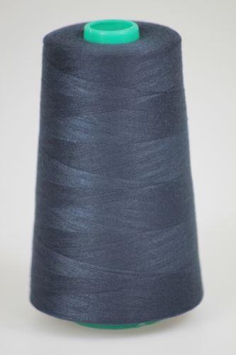 Niť KORALLI polyesterová 120, 5000Y, odtieň 5680, modrá
