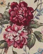 Dekorační látka ROZA, barevné květy, š.280