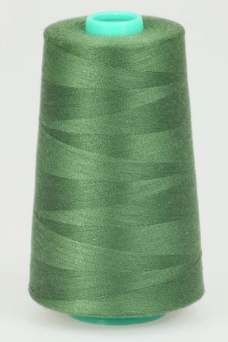 Niť KORALLI polyesterová 120, 5000Y, odtieň 6380, zelená