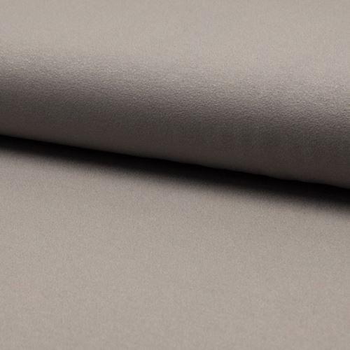 Úplet žoržet DE LUXE holubia šeď, 260g/m, š.145