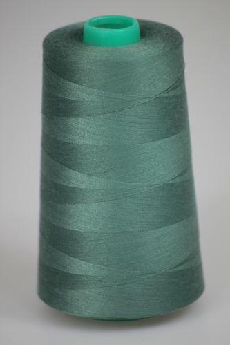 Niť KORALLI polyesterová 120, 5000Y, odtieň 6620, zelená