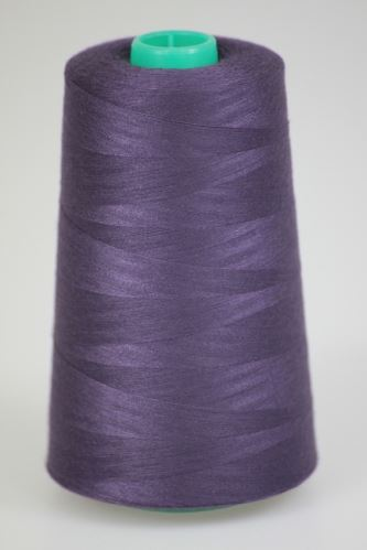 Niť KORALLI polyesterová 120, 5000Y, odtieň 4360, fialová