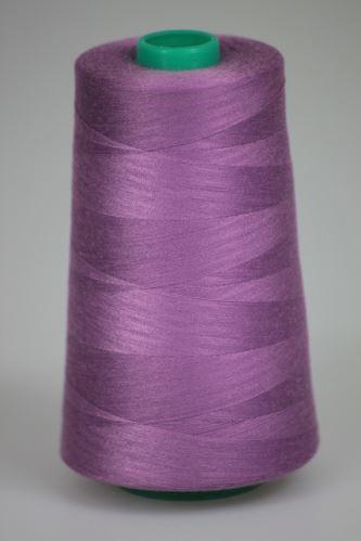 Niť KORALLI polyesterová 120, 5000Y, odtieň 4545, fialová