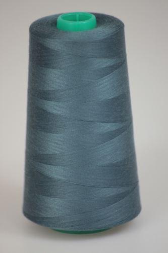 Niť KORALLI polyesterová 120, 5000Y, odtieň 5940, šedá