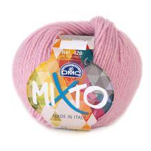Priadza MIXTO 50g, ružová - odtieň 041