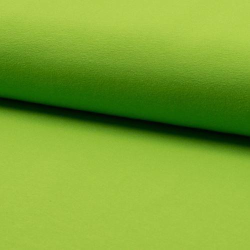 Úplet světle zelený 15533, 220g/m, š.160
