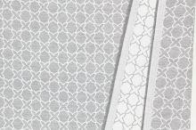 Dekorační látka NIGHT 008A, geometrický vzor, š.280