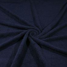 Froté tmavě modré, bavlněné, 340g/m, š.150