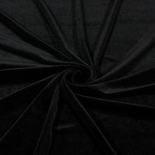 Samet černý, š.145