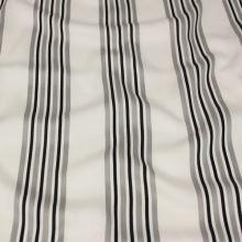 Šatovka bílá, šedo-černý pruh, š.145