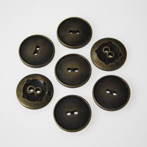 Gombík mosadz K32-12, priemer 20 mm.