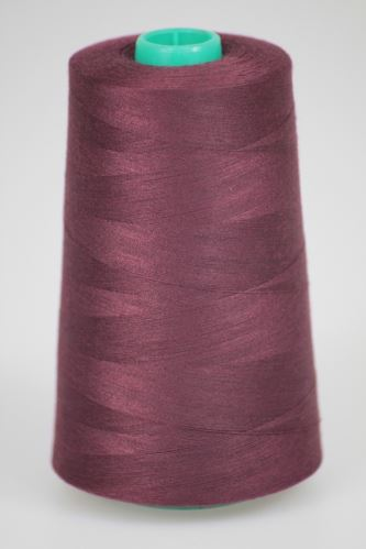 Niť KORALLI polyesterová 120, 5000, odtieň 2780, fialová