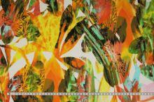 Úplet pestrobarevný, květy a listy, š.155