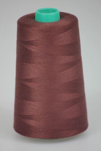 Nit KORALLI polyesterová 120, 5000Y, odstín 8345, hnědá