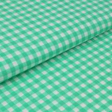Bavlnené plátno zelené, kanafas, š.160