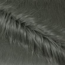 Umelá kožušina šedá s dlhým vlasom, š.160
