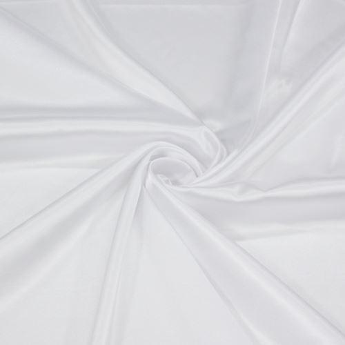 Satén opticky bílý BW385, š.145