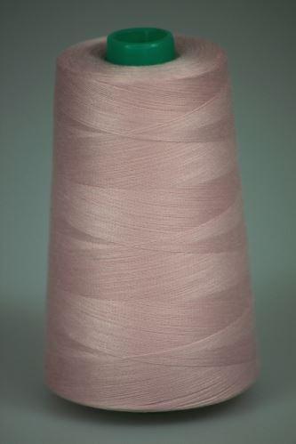 Niť KORALLI polyesterová 120, 5000Y, odtieň 3430, ružová