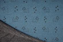 Warmkeeper modrý, psíkovia a stopy, š.145