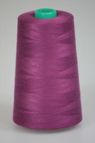 Niť KORALLI polyesterová 120, 5000Y, odtieň 3340, fialová
