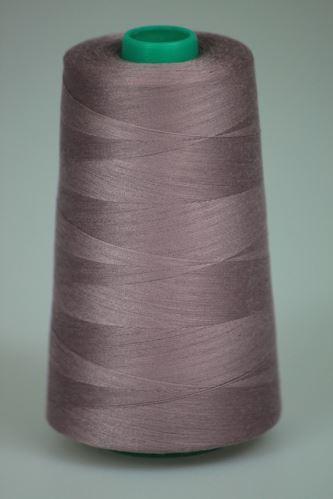 Niť KORALLI polyesterová 120, 5000Y, odtieň 4450, hnedá-ružová
