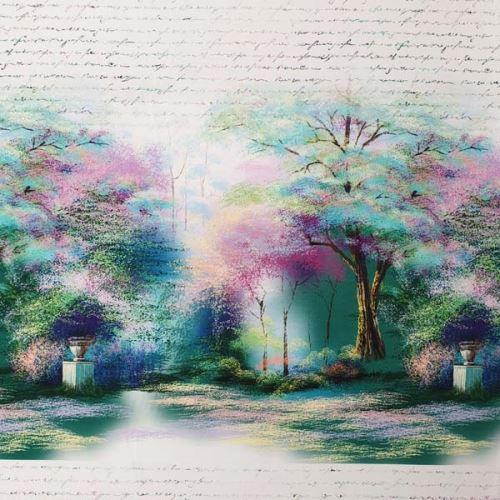 Úplet stromové zátiší a písmo, š.175