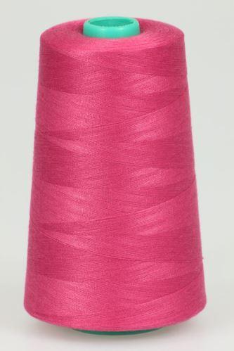Niť KORALLI polyesterová 120, 5000Y, odtieň 3620, ružová