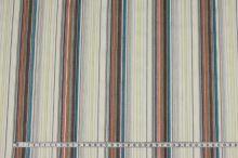 Košeľovina krémová 09180, farebný pruh š.145
