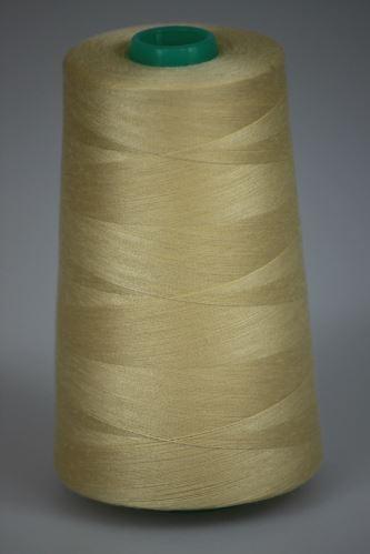 Niť KORALLI polyesterová 120, 5000, odtieň 1150, béžová