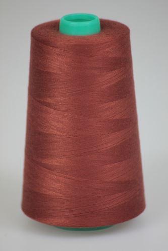 Nit KORALLI polyesterová 120, 5000Y, odstín 2840, hnědá