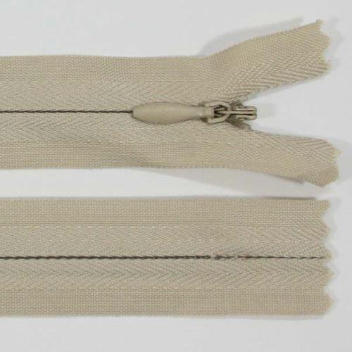 Zip skrytý 3mm délka 40cm, barva 307