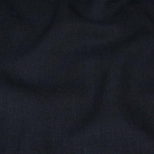 Len tmavě modrý 16766, 260g/m, š.140