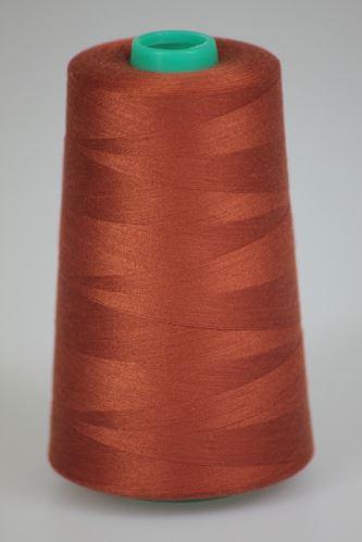 Niť KORALLI polyesterová 120, 5000Y, odtieň 2290, hnedá
