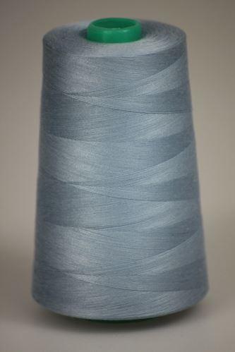 Niť KORALLI polyesterová 120, 5000Y, odtieň 5325, modrá