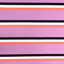 Úplet 21940, lila-ružové pruhy, š.150