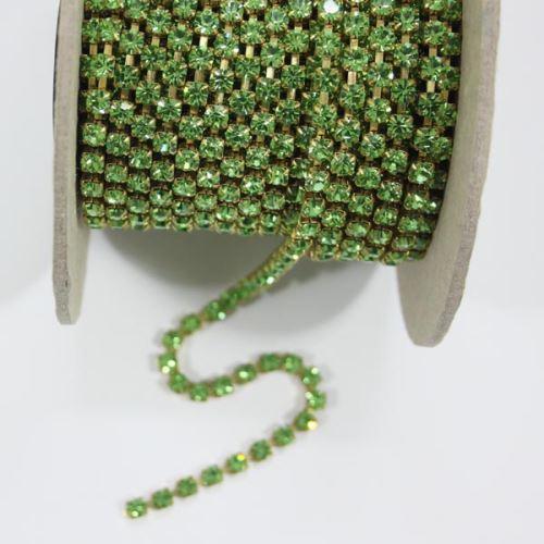 Štras svetlo zelený, SS18