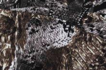 Úplet hnedo-čierny vzor 15072, š.150