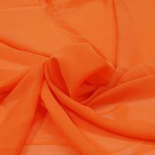 Šifón oranžový P0113, š.150