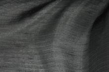 Organza čierna pruh š.150