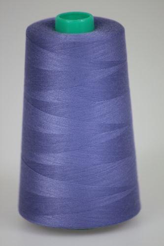 Niť KORALLI polyesterová 120, 5000Y, odtieň 4610, modrá
