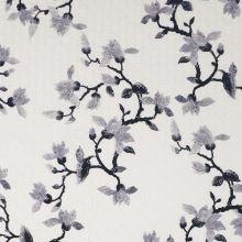 Madeira bílá, šedý květ, š.135/145