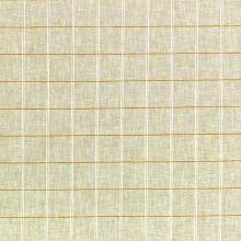 Lněná kostýmovka béžová, káro, š.145