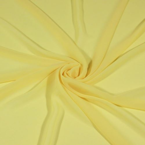 Šifón žltý BW440, š.145
