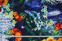 Šatovka barevná, oranžovo-žluté květy, š.140