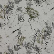 Ľan biely, khaki vzor š.140
