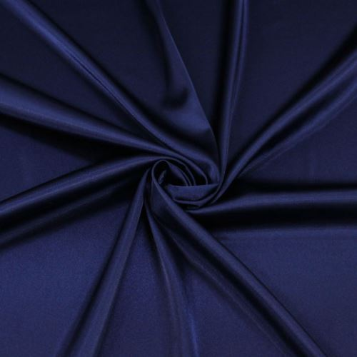 Satén tmavě modrý BW370, š.145
