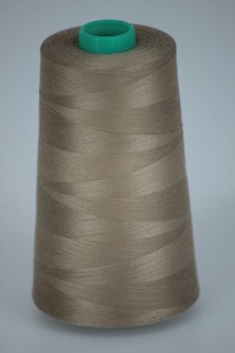 Nit KORALLI polyesterová 120, 5000Y, odstín 8410, béžová