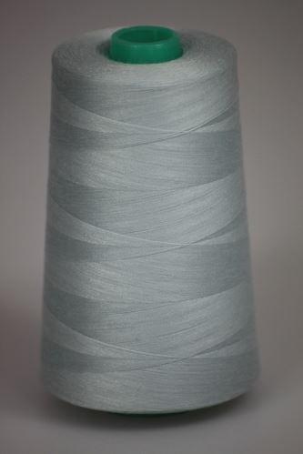Niť KORALLI polyesterová 120, 5000, odtieň 5120, modrá-zelená